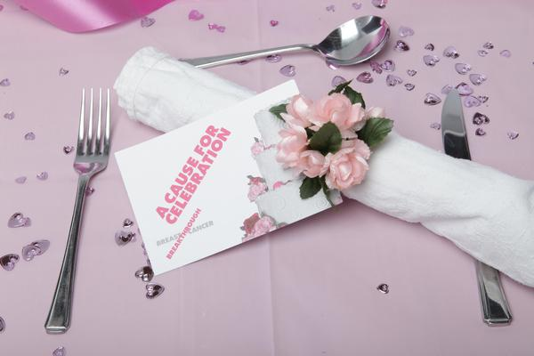 Breakthrough Breast Cancer Place Setting