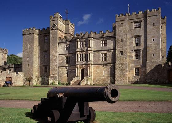 Haunted wedding venue Chillingham Castle in Northumberland