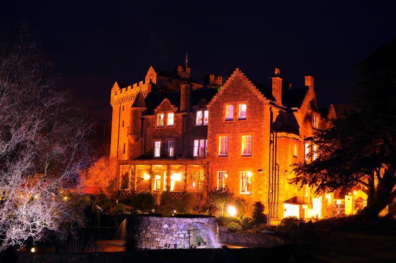 Haunted wedding venue Comlongon Castle in Dumfries
