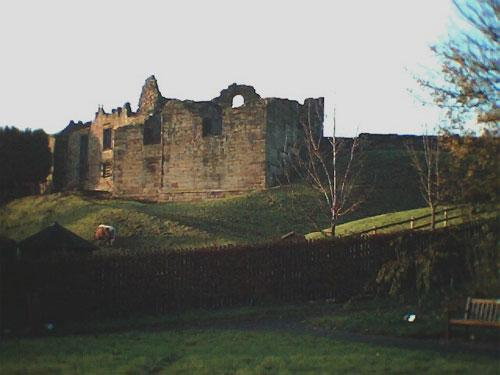 Haunted wedding venue Tutbury Castle in Staffordshire