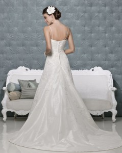Picture of Back of Ashley Wedding Dress - Amanda Wyatt 2011 Collection