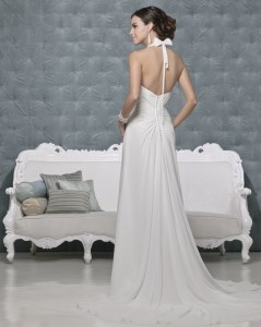 Picture of Back of Cleopatra Wedding Dress - Amanda Wyatt 2011 Collection