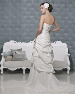 Picture of Back of Gemini Wedding Dress - Amanda Wyatt 2011 Collection