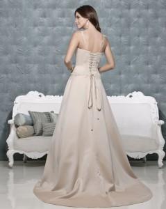 Picture of Back of Gretchen Wedding Dress - Amanda Wyatt 2011 Collection
