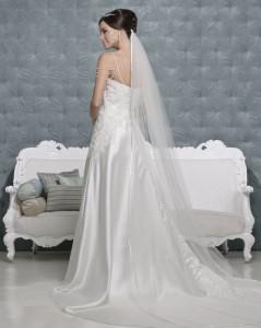 Picture of Back of Katherine Wedding Dress - Amanda Wyatt 2011 Collection