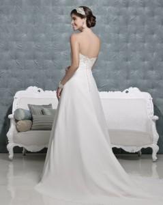 Picture of Back of Lark Wedding Dress - Amanda Wyatt 2011 Collection