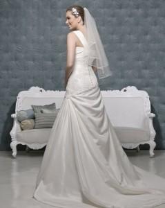 Picture of Back of Makayla Wedding Dress - Amanda Wyatt 2011 Collection