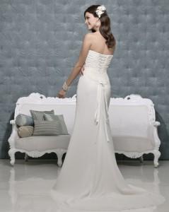 Picture of Back of Neomie Wedding Dress - Amanda Wyatt 2011 Collection