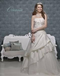 Picture of Oceana Wedding Dress - Amanda Wyatt 2011 Collection