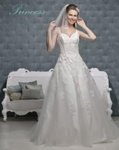 Picture of Princess Wedding Dress - Amanda Wyatt 2011 Collection