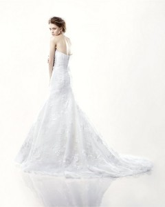 Picture of Back of Dalat Wedding Dress - Blue by Enzoani 2011 Collection