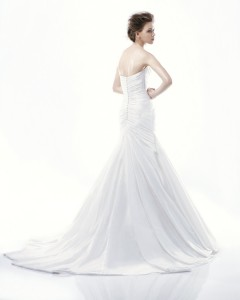 Picture of Back of Dartmouth Wedding Dress - Blue by Enzoani 2011 Collection