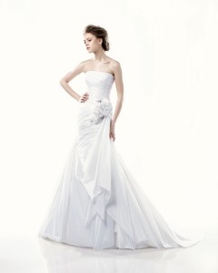 Picture of Dartmouth Wedding Dress - Blue by Enzoani 2011 Collection