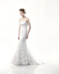 Picture of Davis Wedding Dress - Blue by Enzoani 2011 Collection