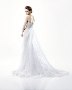 Picture of Back of Dayton Wedding Dress - Blue by Enzoani 2011 Collection