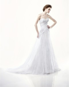 Picture of Dayton Wedding Dress - Blue by Enzoani 2011 Collection