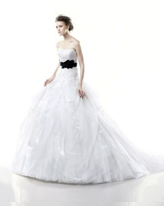 Picture of Denmark Wedding Dress - Blue by Enzoani 2011 Collection