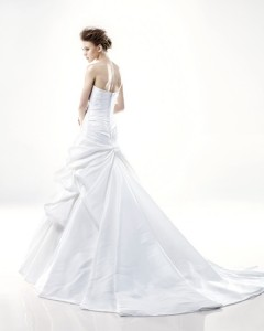 Picture of Back of Detroit Wedding Dress - Blue by Enzoani 2011 Collection