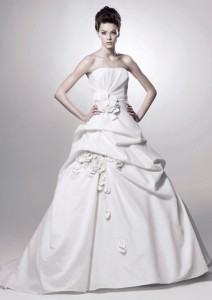 Picture of Dijon Wedding Dress - Blue by Enzoani 2011 Collection
