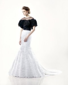Picture of Dillon Wedding Dress - Blue by Enzoani 2011 Collection