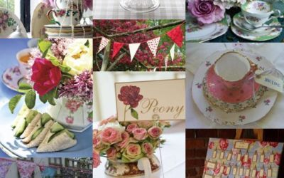 English Garden Party Wedding Theme Ideas