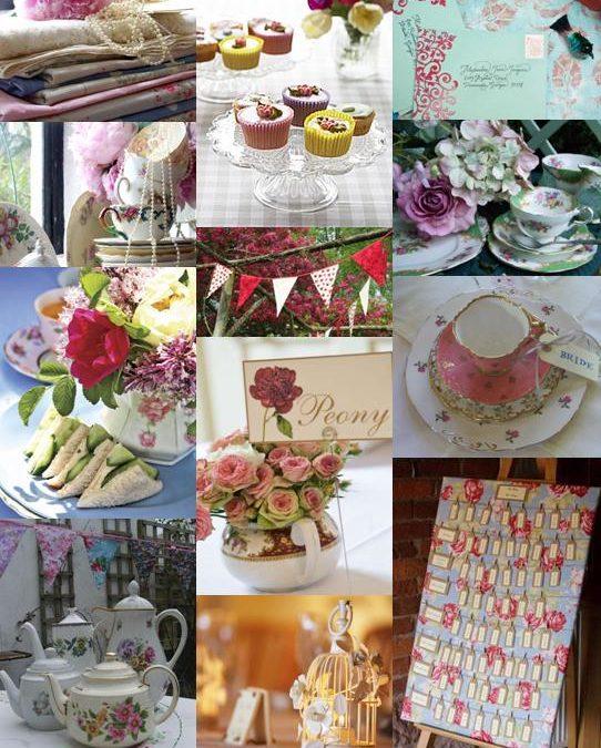 English Garden Party Wedding Theme Ideas