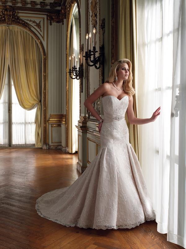 Picture of 211244 Norma Wedding Dress - Mon Cheri Bridals 2011 Autumn Collection