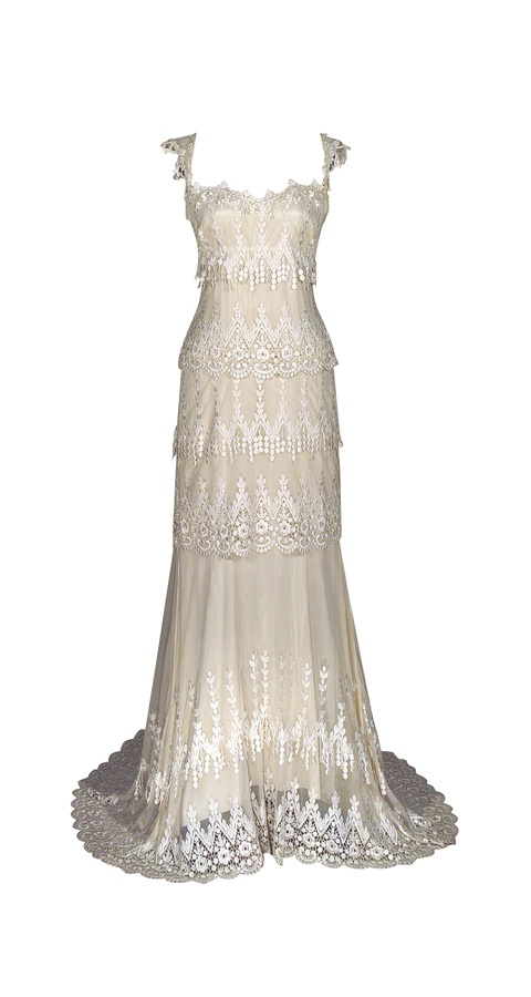 Picture of Kristene Wedding Dress - Claire Pettibone Continuing 2011 Collection