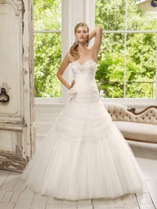 Picture of 64001 Dalila Wedding Dress - Ronald Joyce 2011 Collection
