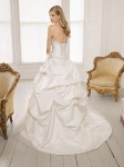 Picture of Back of 64002 Dani Wedding Dress - Ronald Joyce 2011 Collection