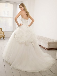 Picture of Back of 64007 Dolly Wedding Dress - Ronald Joyce 2011 Collection