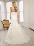 Picture of Back of 64009 Daisy Wedding Dress - Ronald Joyce 2011 Collection
