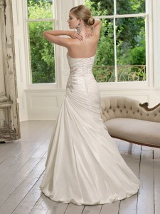 Picture of Back of 64015 Desiree Wedding Dress - Ronald Joyce 2011 Collection