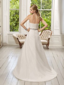 Picture of Back of 64016 Destiny Wedding Dress - Ronald Joyce 2011 Collection