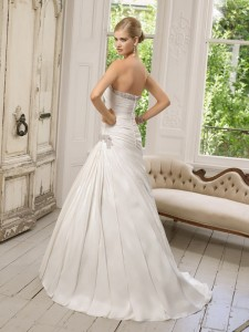 Picture of Back of 64017 Donatella Wedding Dress - Ronald Joyce 2011 Collection