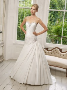 Picture of 64017 Donatella Wedding Dress - Ronald Joyce 2011 Collection