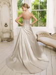 Picture of Back of 64019 Dominique Wedding Dress - Ronald Joyce 2011 Collection