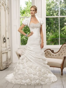Picture of 64022 Dulce Wedding Dress - Ronald Joyce 2011 Collection