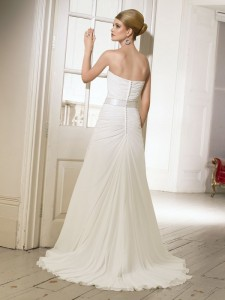 Picture of Back of 64024 Denise Wedding Dress - Ronald Joyce 2011 Collection