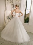 Picture of Back of 65002 Doriana Wedding Dress - Ronald Joyce 2011 Collection