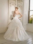 Picture of Back of 65004 Delilah Wedding Dress - Ronald Joyce 2011 Collection