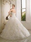 Picture of Back of 65007 Duchessa Wedding Dress - Ronald Joyce 2011 Collection