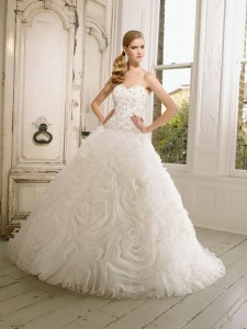 Picture of 65007 Duchessa Wedding Dress - Ronald Joyce 2011 Collection