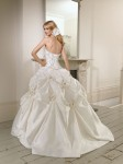 Picture of Back of 65008 Dita Wedding Dress - Ronald Joyce 2011 Collection