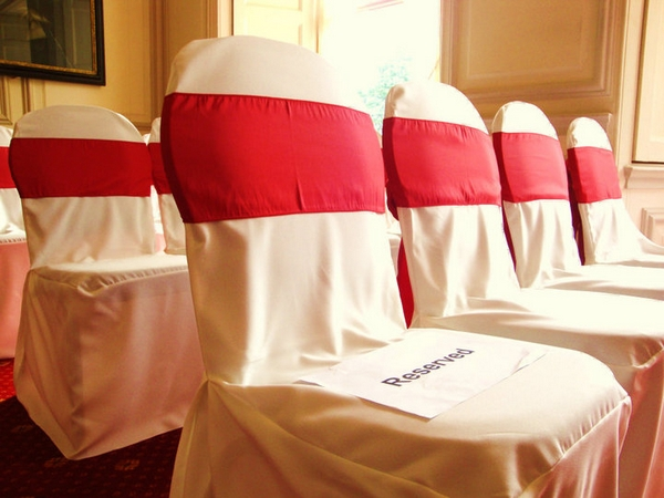 Wedding Chair Covers at Ashton Court Mansion