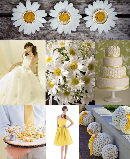Daisy Wedding Theme Ideas