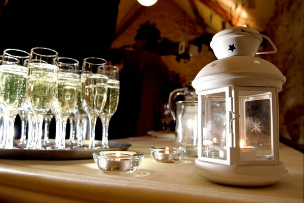 Lantern and Champagne by The Little Wedding Helper