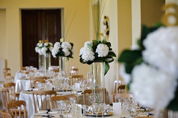 Wdding Table Centres by The Little Wedding Helper - Picture by Jo Handsford Photography