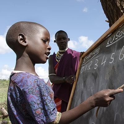 Oxfam Unwrapped Teach a Teacher - Image by Geoff Sayer
