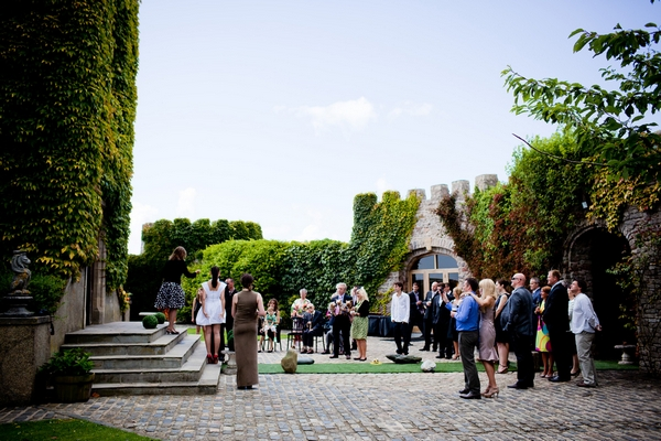 Wedding ceremony at Walton Castle in Clevedon - Sam Gibson Wedding Photography